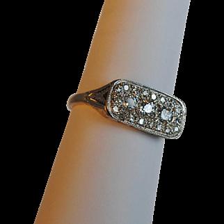 Edwardian 18Kt/14kt Gold Diamond Ring 0.90ct