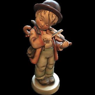 """M I Hummel Goebel  2/11 Little Fiddler Trademark 2 Large 10 3/4"""""""