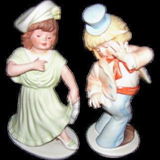 Goebel Oops and Little Miss Make Believe figurines