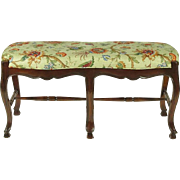 French Provincial-Style Bench
