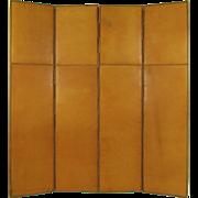 Custom Embossed Leather Screen