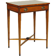 English Georgian-Style Inlaid Stand