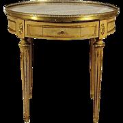 Louis XVI-Style Boulliotte Table