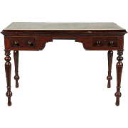 19th-C. British Colonial Writing Table
