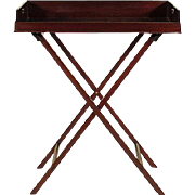 English Butler's Tray on Stand