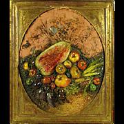 19th-C. Italian Maiolica Relief