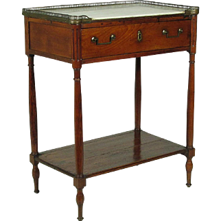 18th-C. Directoire Side Table