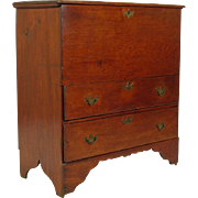 19th-C. American Pine Blanket Chest