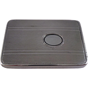 Rare Scandinavian .830 Silver Vesta Case / Match Safe Circa 1920
