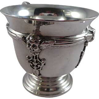 Top Quality Sterling Silver Christening Cup London 1935
