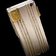 Highly collectable vintage 50's Parker Lustaroll lighter, vintage 1950's Dunhill company, Irvine Bros