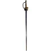 Victorian Sword, belonged to Lord James Bain, Knight of the Thistle, 19th century militaria