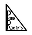 Paulus Rare items
