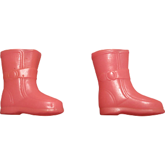 Vintage Skipper Flower Shower Hot Pink Japan Boots