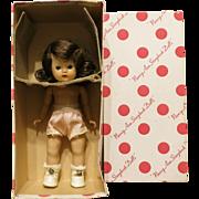 Vintage Nancy Ann Muffie Doll #500 Undressed With Original Box