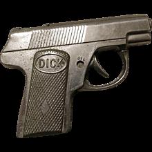 Vintage Dick Tracy Toy Metal Cap Gun