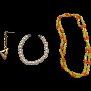 Vintage Barbie Necklaces & Earring