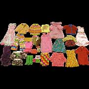 Vintage Barbie, Francie, Sklipper & PJ  Mod Clothing Group 1969 - 1971