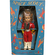 Vintage 1955 Space Scout Doll in Original Box
