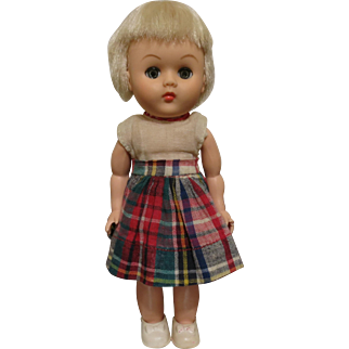 "Vogue Ginny Bent Knee Doll 8"" 1963-1964"