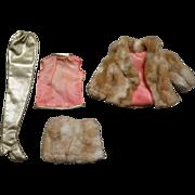 Vintage Barbie Fab Fur #1493
