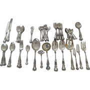 Wonderful Gorham Buttercup Sterling Silver Flatware set with 76 pieces