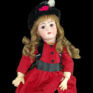 "23"" German antique doll by Handwerck"