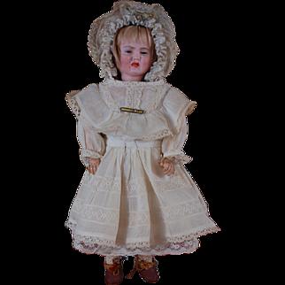 """12"""" multi face German doll by Carl Bergner"""