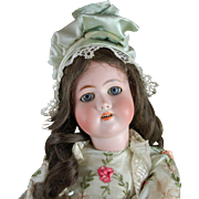 "24"" antique bisque German girl doll"