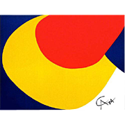 Alexander Calder Convection  (Flying Colors) Lithograph