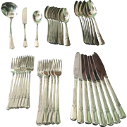 Int. Silver Company Plated Vintage Flatware Set