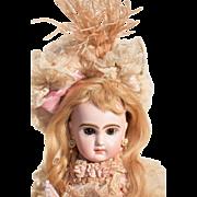 Snow Angel -  Petite Tete Jumeau in Parisian Couture Costume