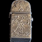 Antique silver Dutch vesta