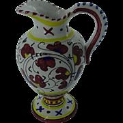 Vintage Deruta-Cascia Jug