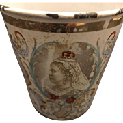 19th Century Queen Victoria Coronation Cup