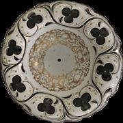 19th Century Art Glass Bohemian Bowl w/o stand