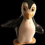Vintage Hand Painted Miniature Penguin Circa 1950's