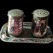 Mid Century Texco Alpaca Salt and Pepper Set