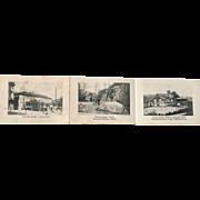 1920's Ephemera Advertising for Karlsbad Czechoslovakia with historical monuments