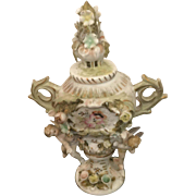 19th Century Sevres Porcelain Hand Painted with Angels