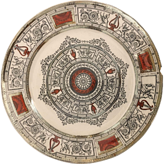 Late 19th Century English Regent Late Mayers Charger Plate