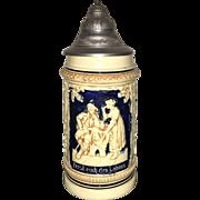 Early 20th Century German Beer Stein