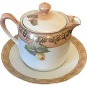 R & S Germany Plate and Creamer Circa 1918