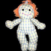 Vintage Hasbro Collectible Sweet Dreams Plush Romper Room Softies Sleep Doll