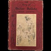 Early American Classic Hardback Doctor Dolittle By Hugh Lofting