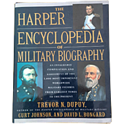 American Hard Cover Harper Encyclopedia Of Military Biography  By Dupuy, Johnson & Bongard