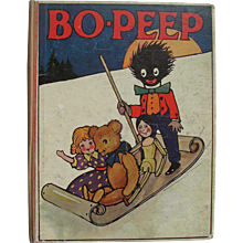 Antique 1911 Bo-Peep Picture Book Annual For Little Folks
