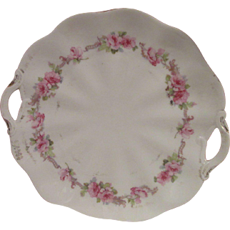Old Painted China Service Tray