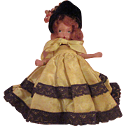 All Bisque Story Book Doll