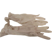 Ladies Old Silk Gloves